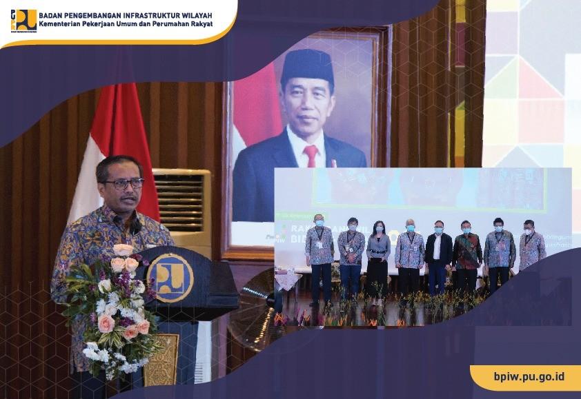 BPIW Kementerian PUPR Gelar Rakorbangwil 2021