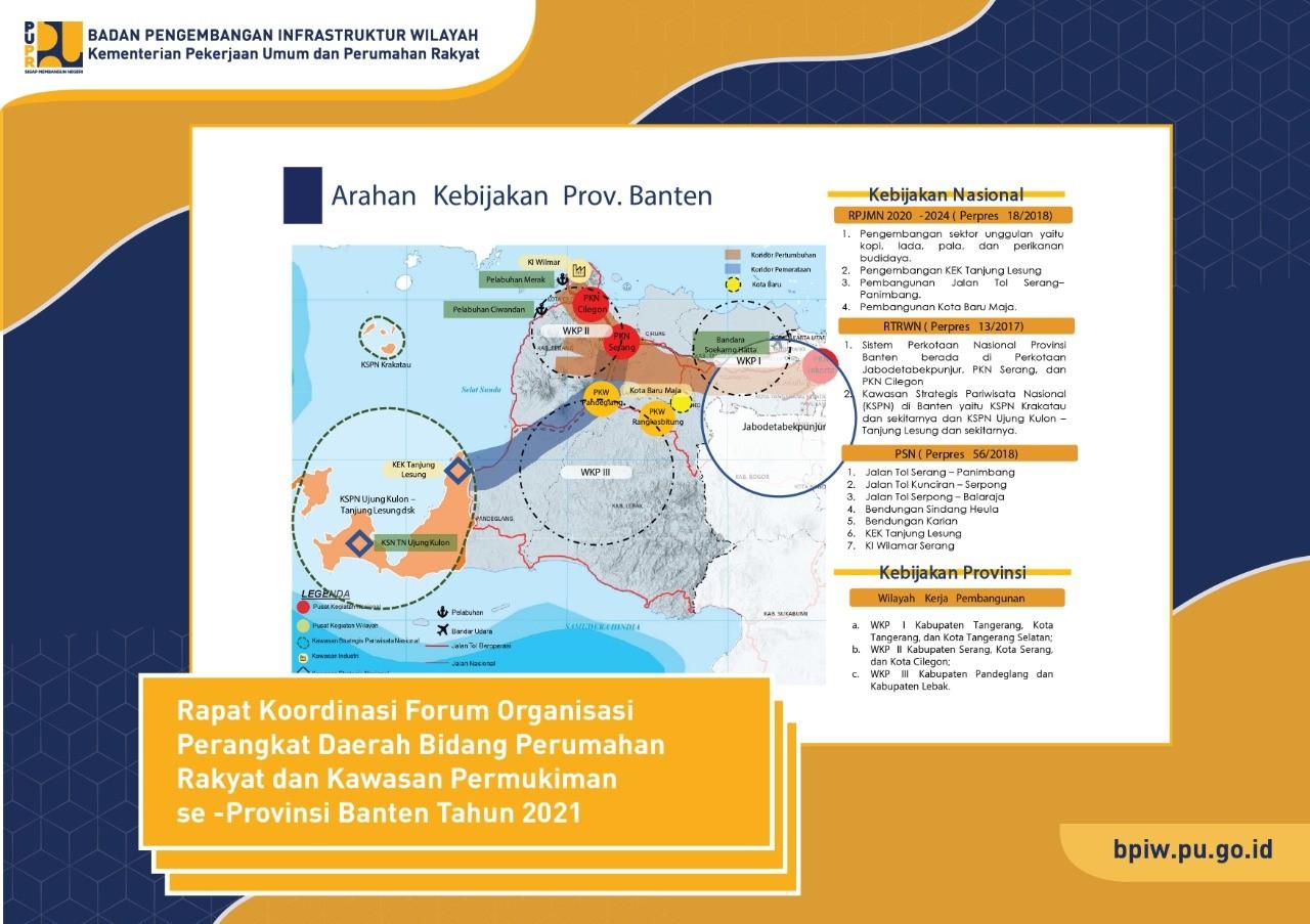 Kementerian PUPR Dukung Pengembangan Provinsi Banten