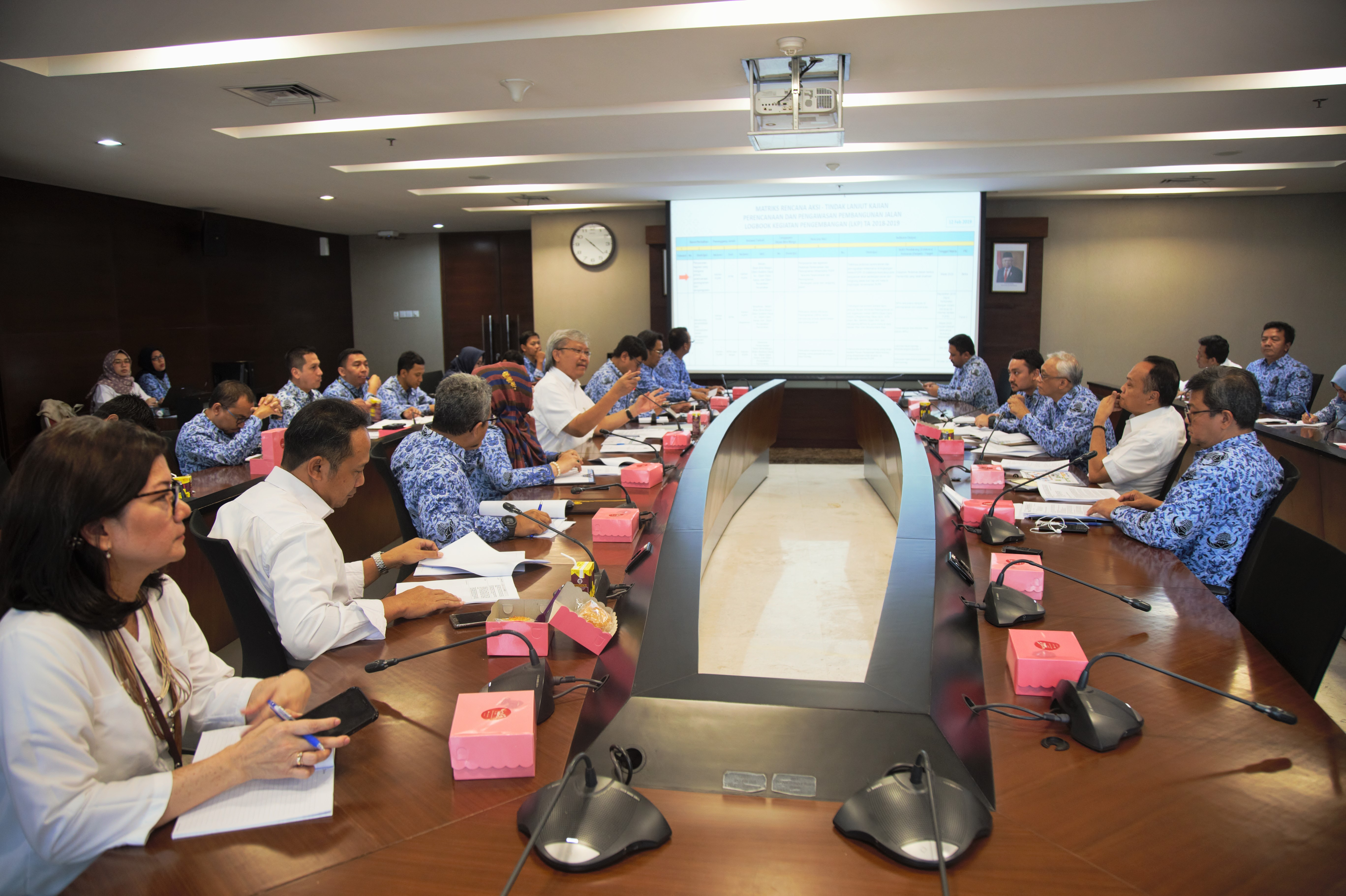 BPIW Lakukan Pertemuan dengan Unor Terkait Rapermen Perencanaan dan Pemrograman PUPR