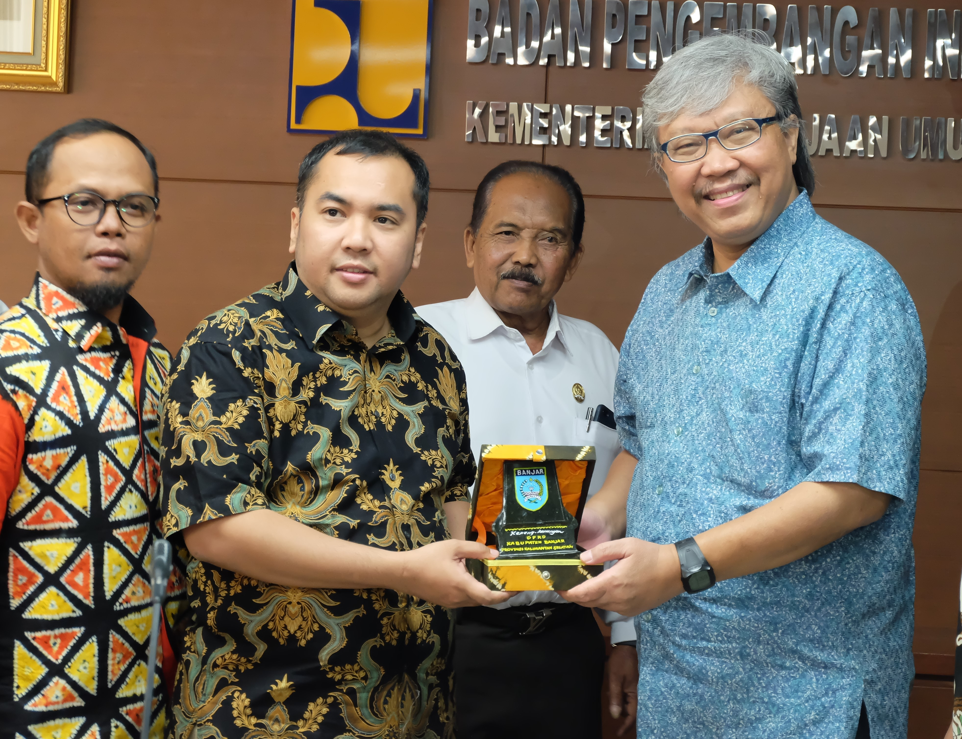 Kunjungi BPIW, Komisi III DPRD Kabupaten Banjar Ungkap Kebutuhan Infrastruktur Didaerahnya