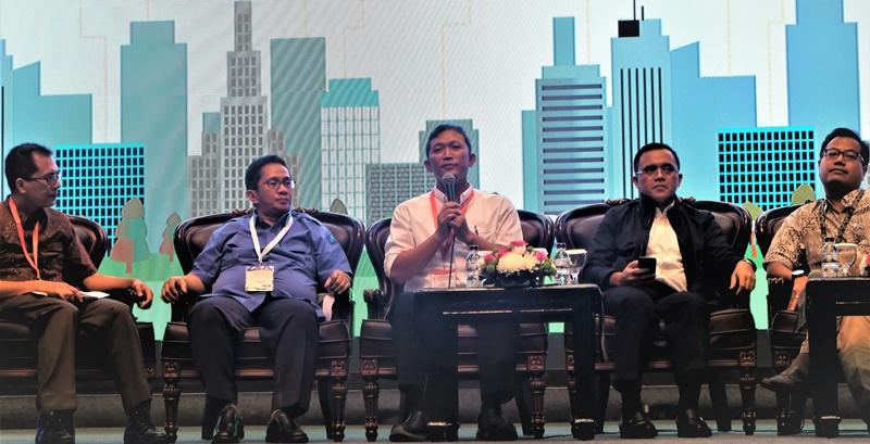BPIW Ramaikan Pameran Indonesia International Smart City Expo & Forum 2017