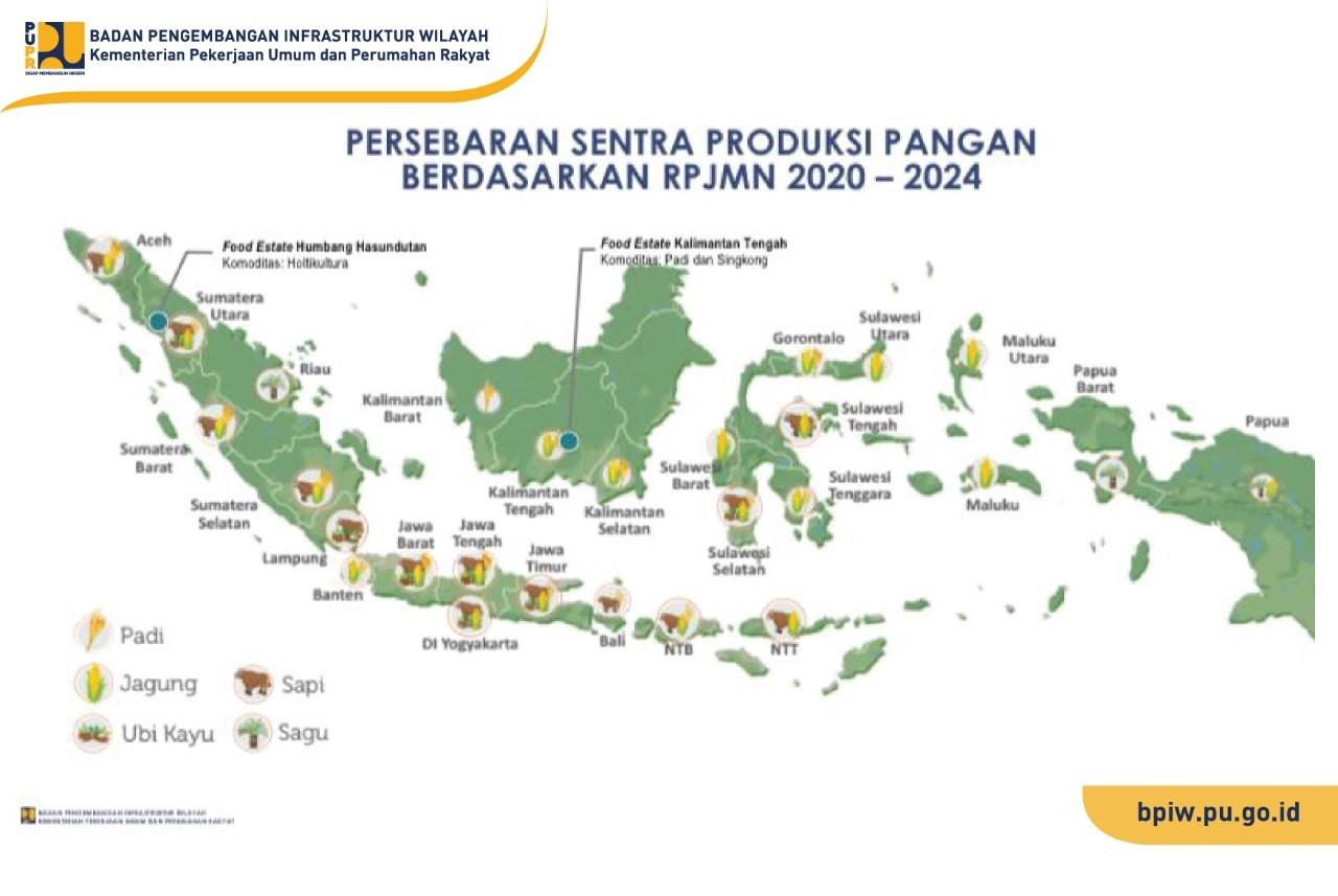 BPIW Lakukan Sinkronisasi dan Koordinasi dengan Kementerian Pertanian