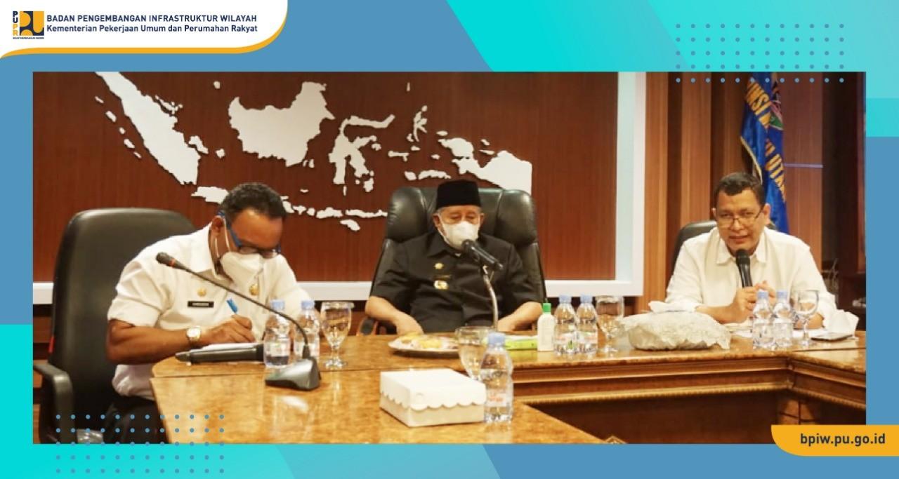 BPIW Dukung Percepatan Pengembangan di Provinsi Malut