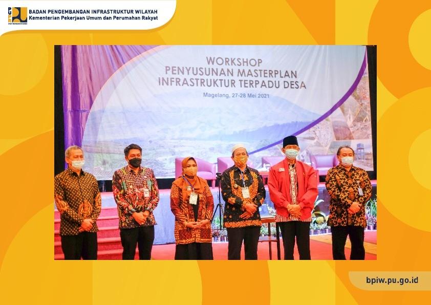 BPIW Gelar Workshop Penyusunan Masterplan Infrastruktur Terpadu Desa,  Dukung Implementasi Bottom-Up Planning