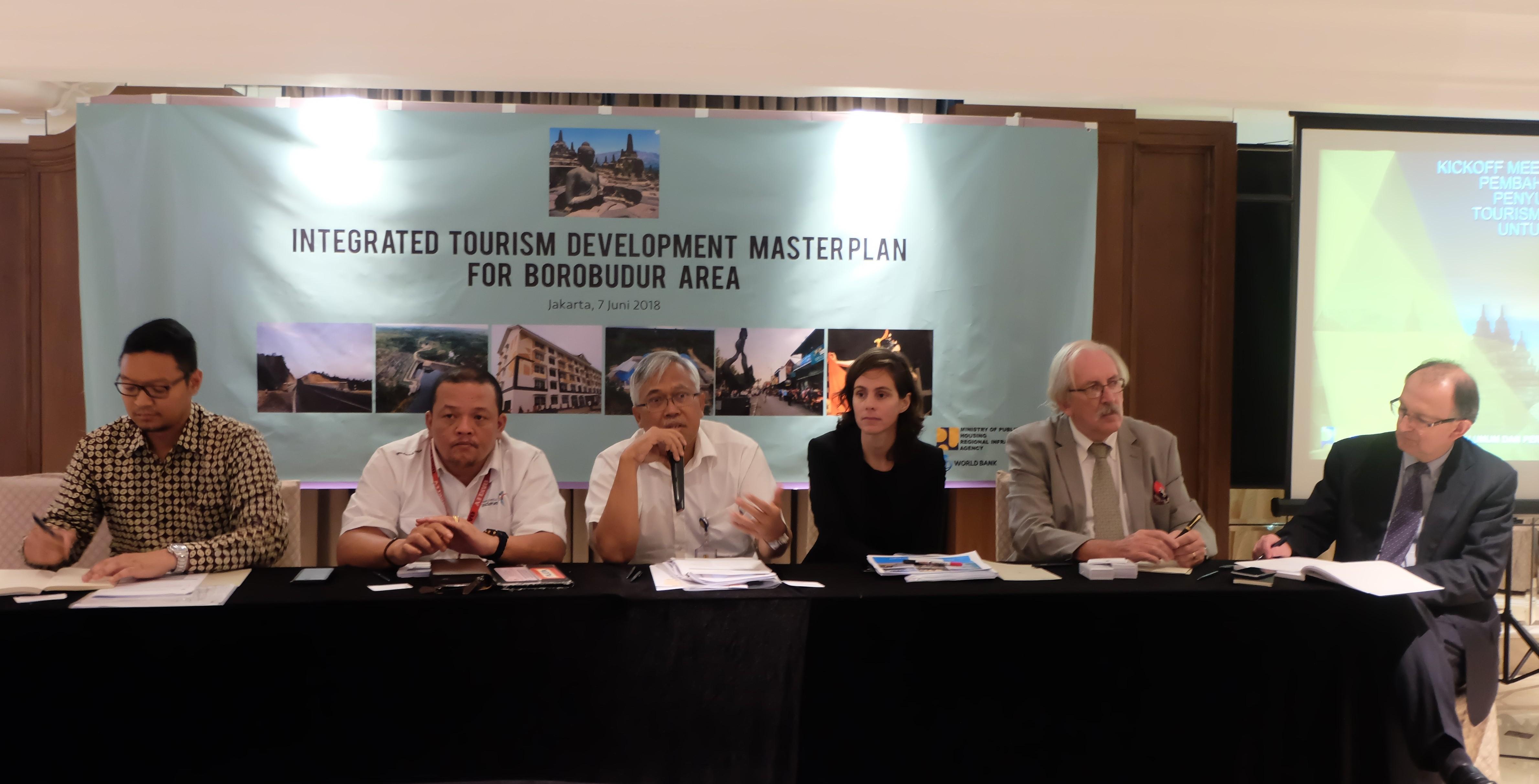 Pemerintah Mulai Susun ITMP KSPN Borobudur