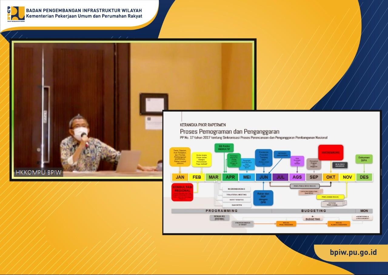 BPIW Gelar Persiapan Harmonisasi Rapermen Pedoman Perencanaan dan Pemrograman Pembangunan Infrastruktur PUPR