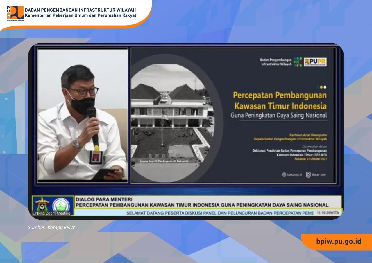 Kementerian PUPR Dorong Pembangunan di Kawasan Timur Indonesia dengan Pendekatan Kewilayahan