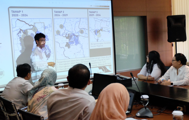 Percepat Pengembangan Kota Baru Maja, BPIW Kaji Pembangunan Jalan Akses