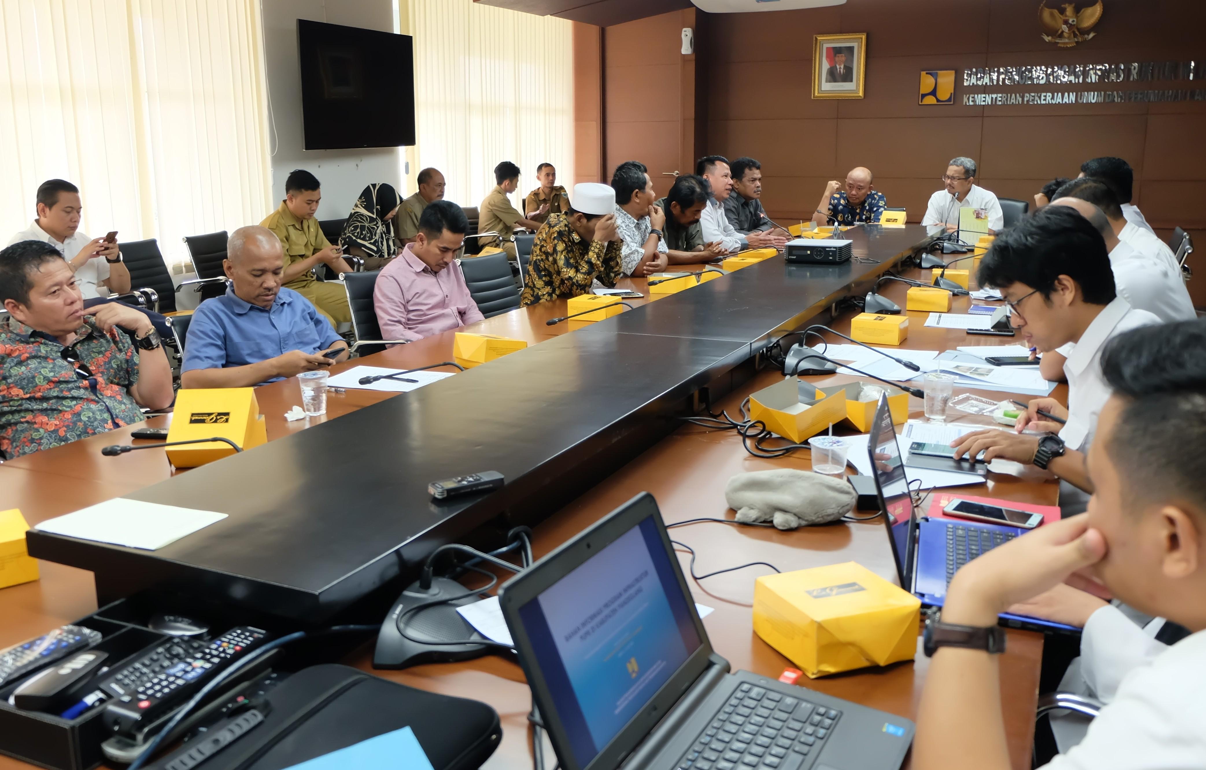 Kementerian PUPR Siapkan Dukungan Infrastruktur Untuk Pengembangan KEK Tanjung Lesung
