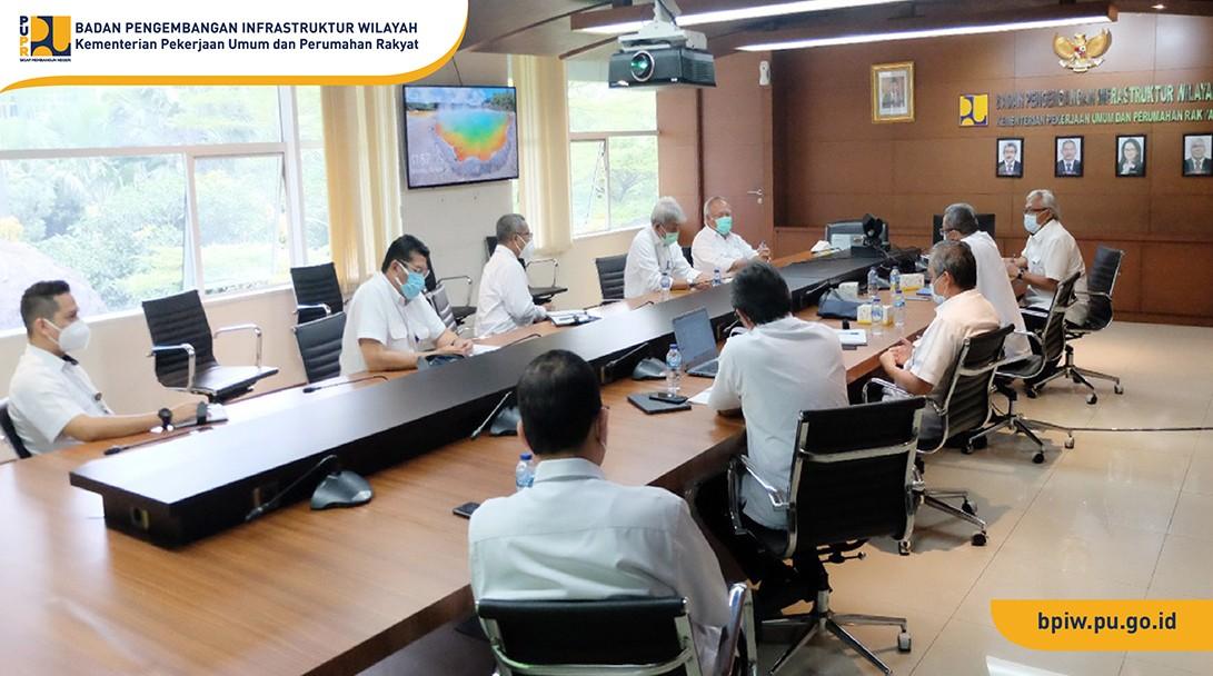 Kunjungan Menteri PUPR ke BPIW