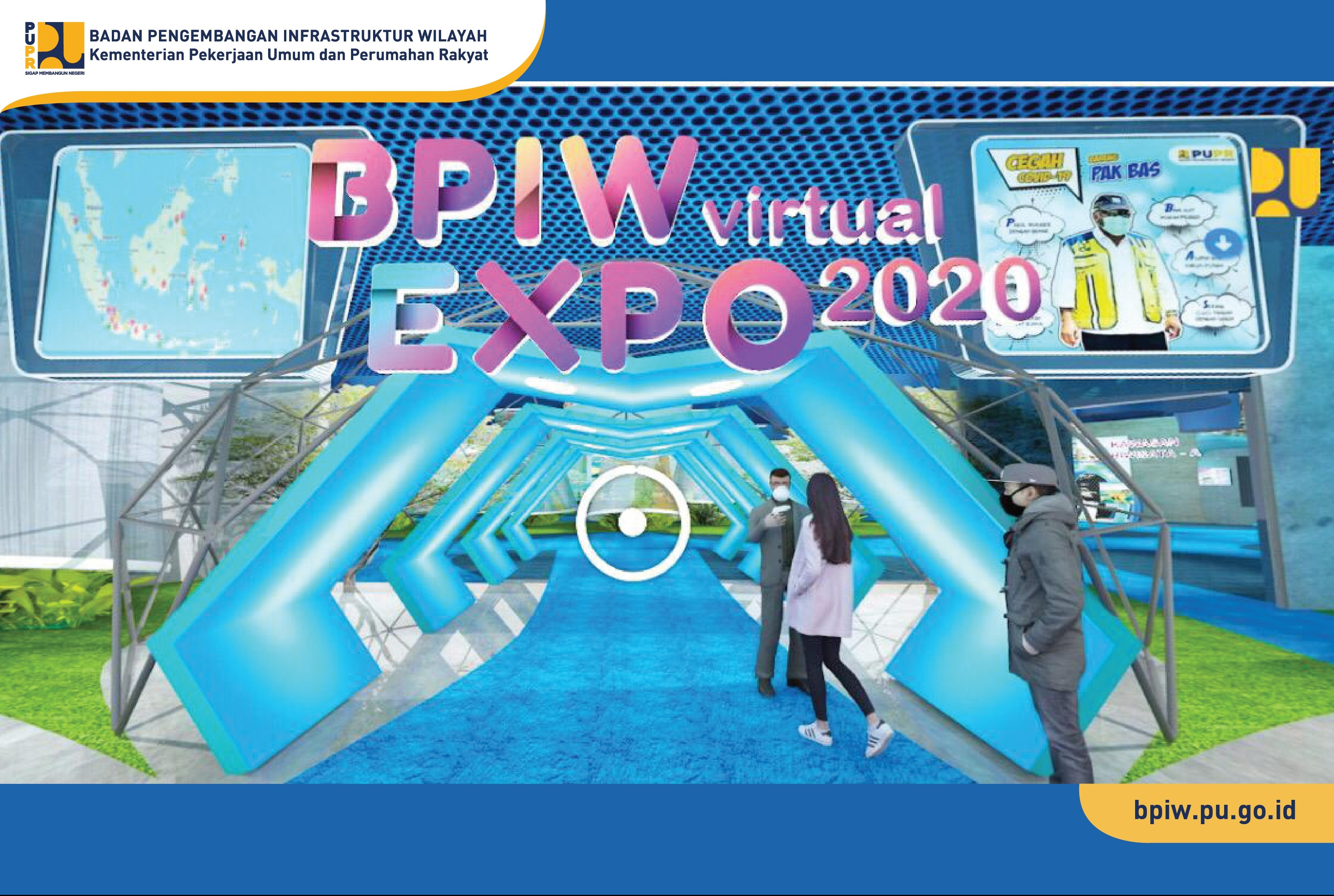 Expose Hasil Kajian, BPIW Gelar Virtual Expo 2020