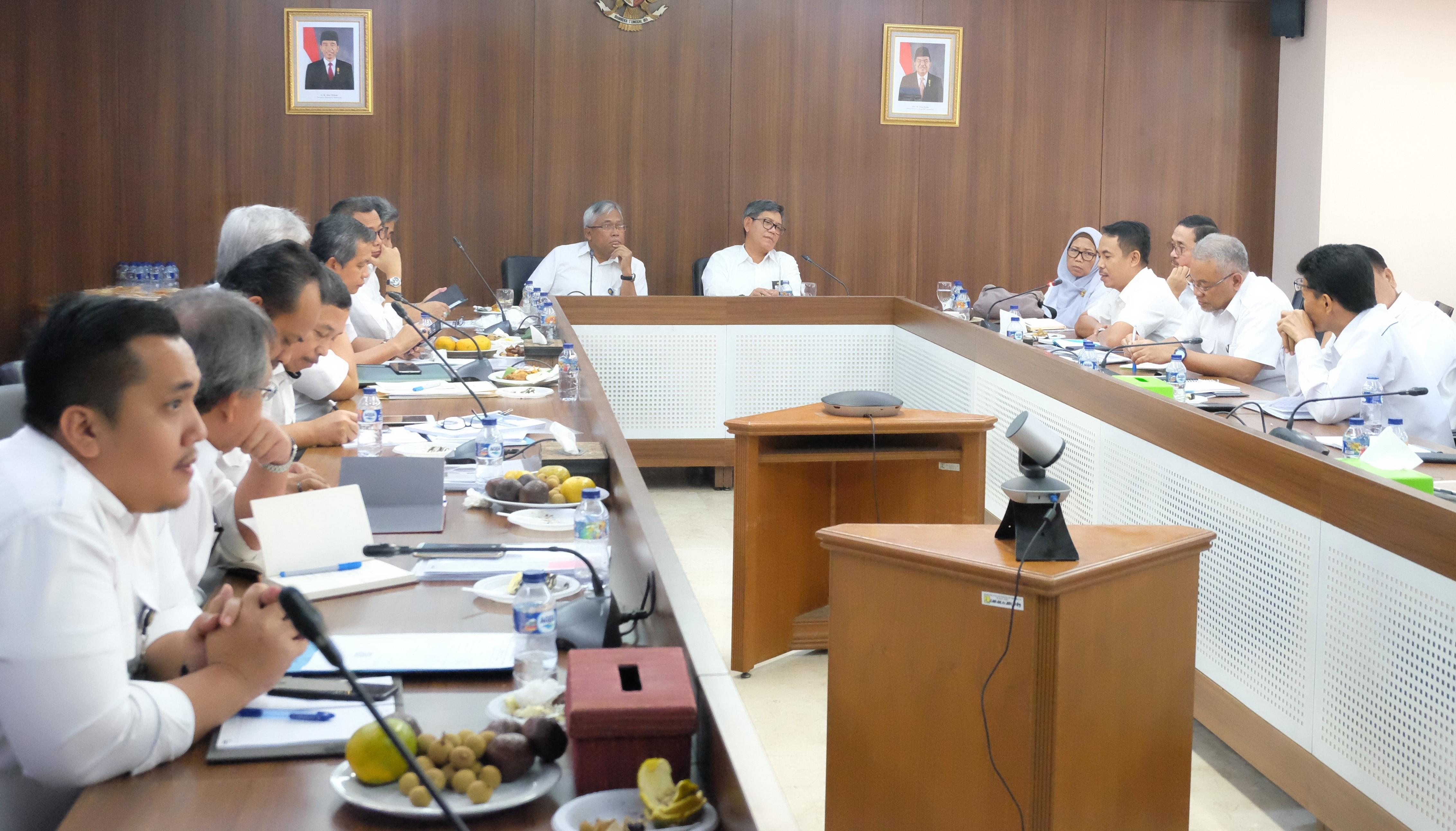 Kunjungi Cipta Karya, Kepala BPIW Bahas Keterpaduan Perencanaan Infrastruktur