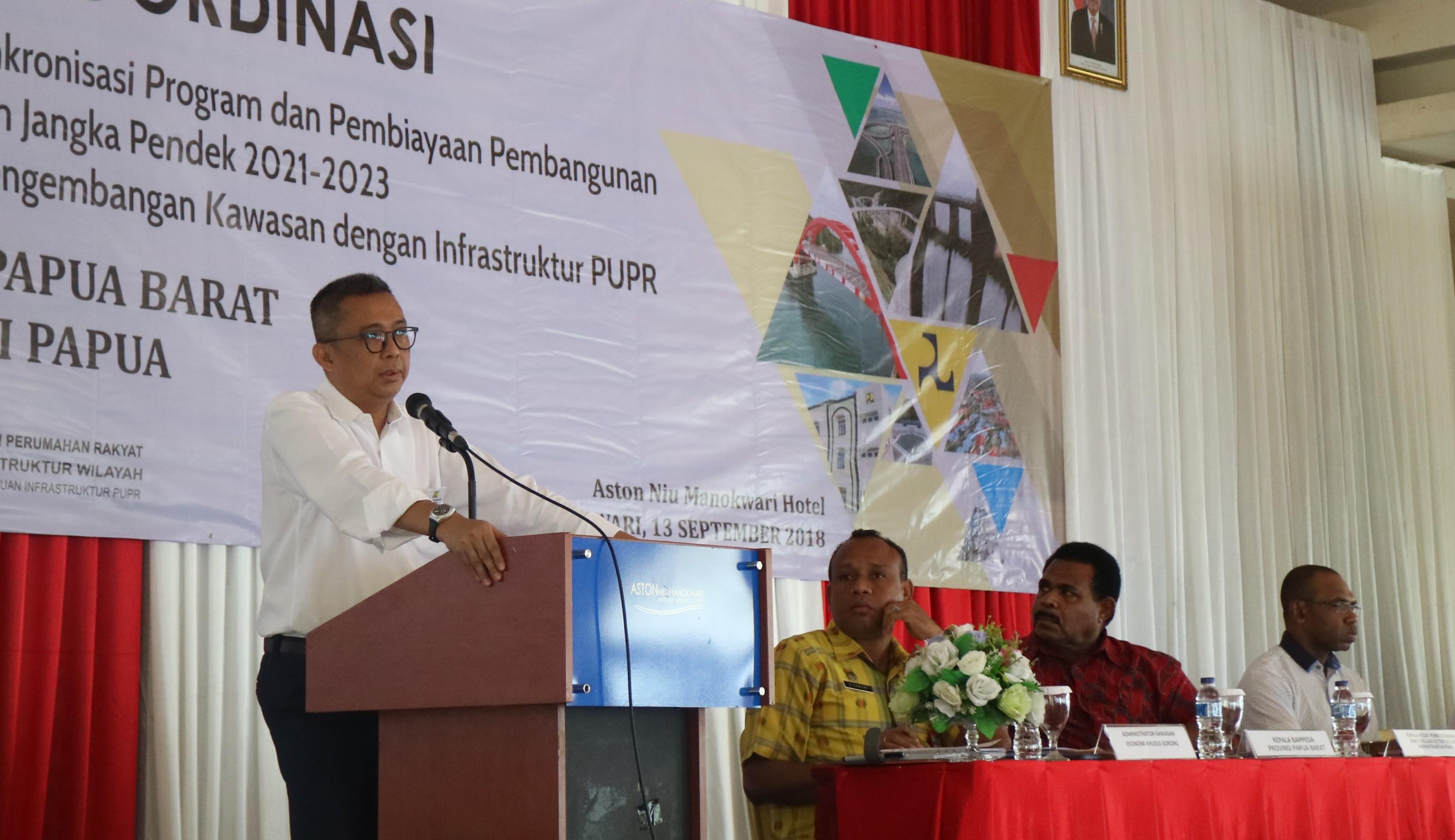 Inilah Isu Strategis Infrastruktur Papua dan Maluku pada 2020 dan 2021-2023