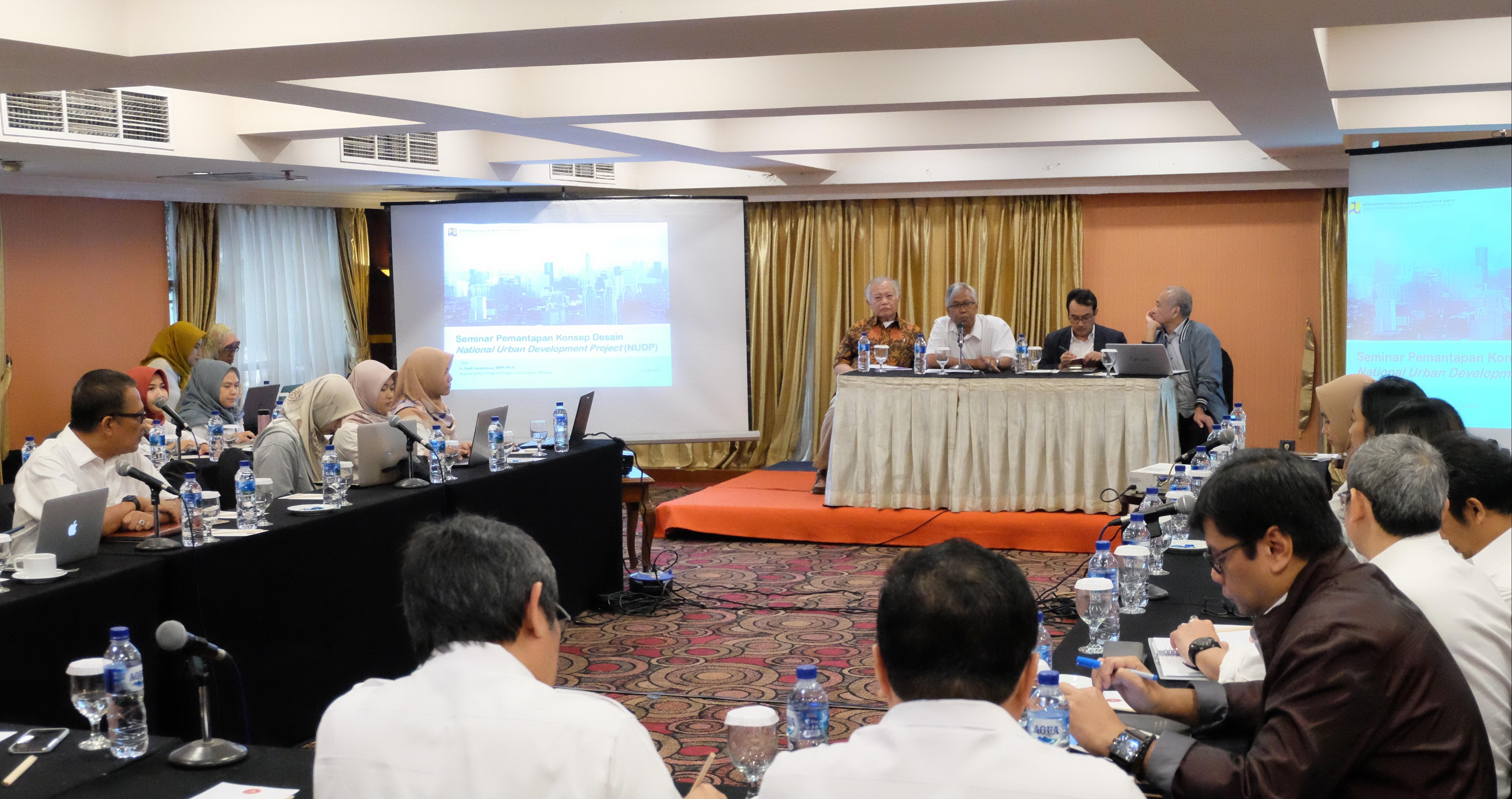 Implementasikan NUDP, BPIW Libatkan Pakar Perkotaan