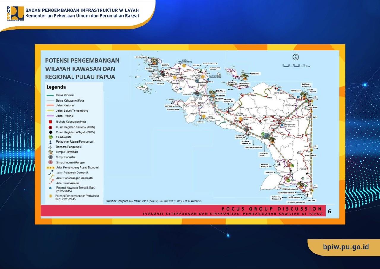 Keterpaduan dan Sinkronisasi Program Pengembangan Kawasan di Papua Perlu di Evaluasi