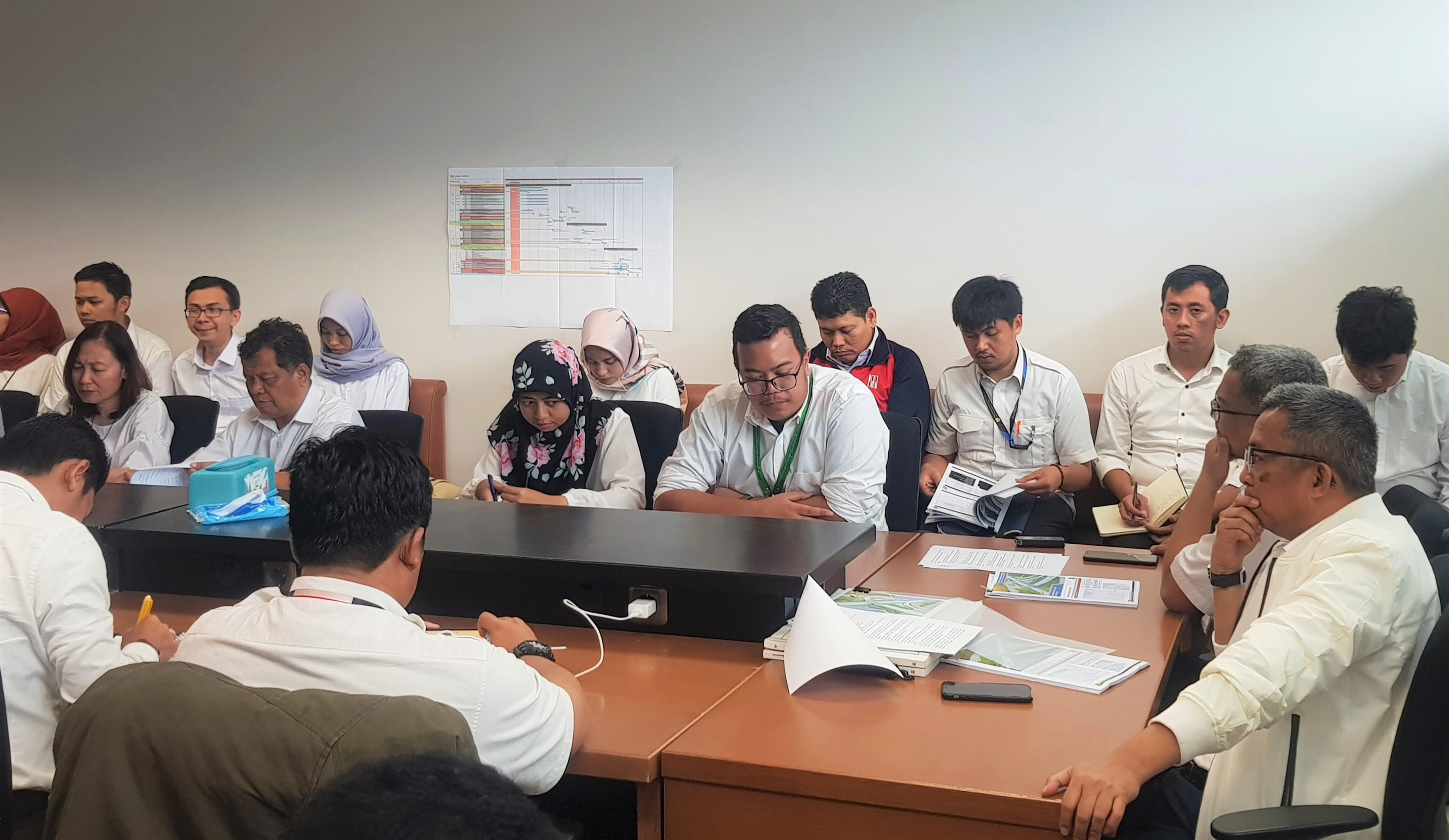 Ditjen Bina Marga dan BPIW Bahas Penugasan Penanganan Ruas Jalan Daerah dengan APBN 2019