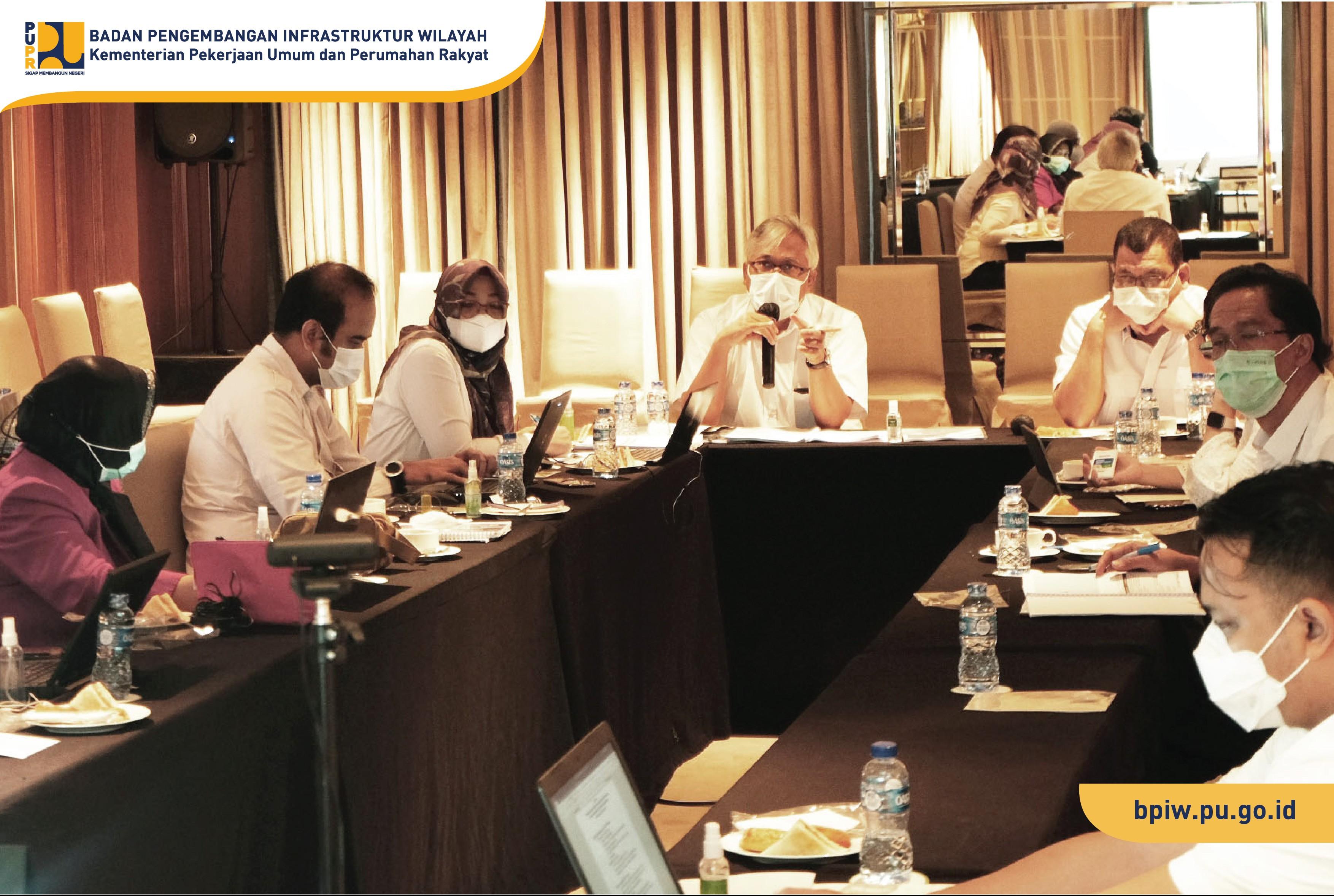 BPIW Tajamkan Rencana Pengembangan Kawasan Metropolitan Mamminasata dan Bimindo