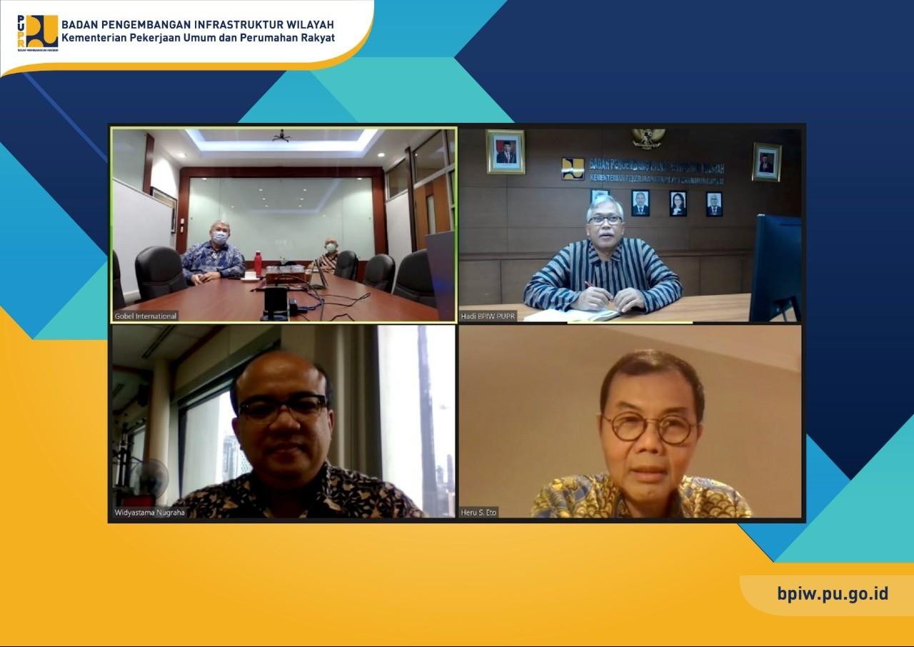 BPIW Komitmen Dukung Percepatan Pengembangan Gorontalo