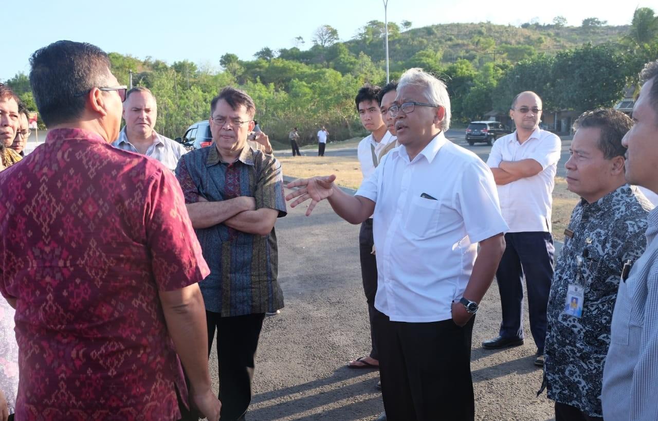 Percepat Pengembangan KSPN Lombok, Pemerintah Lakukan Kunjungan Lapangan Bersama