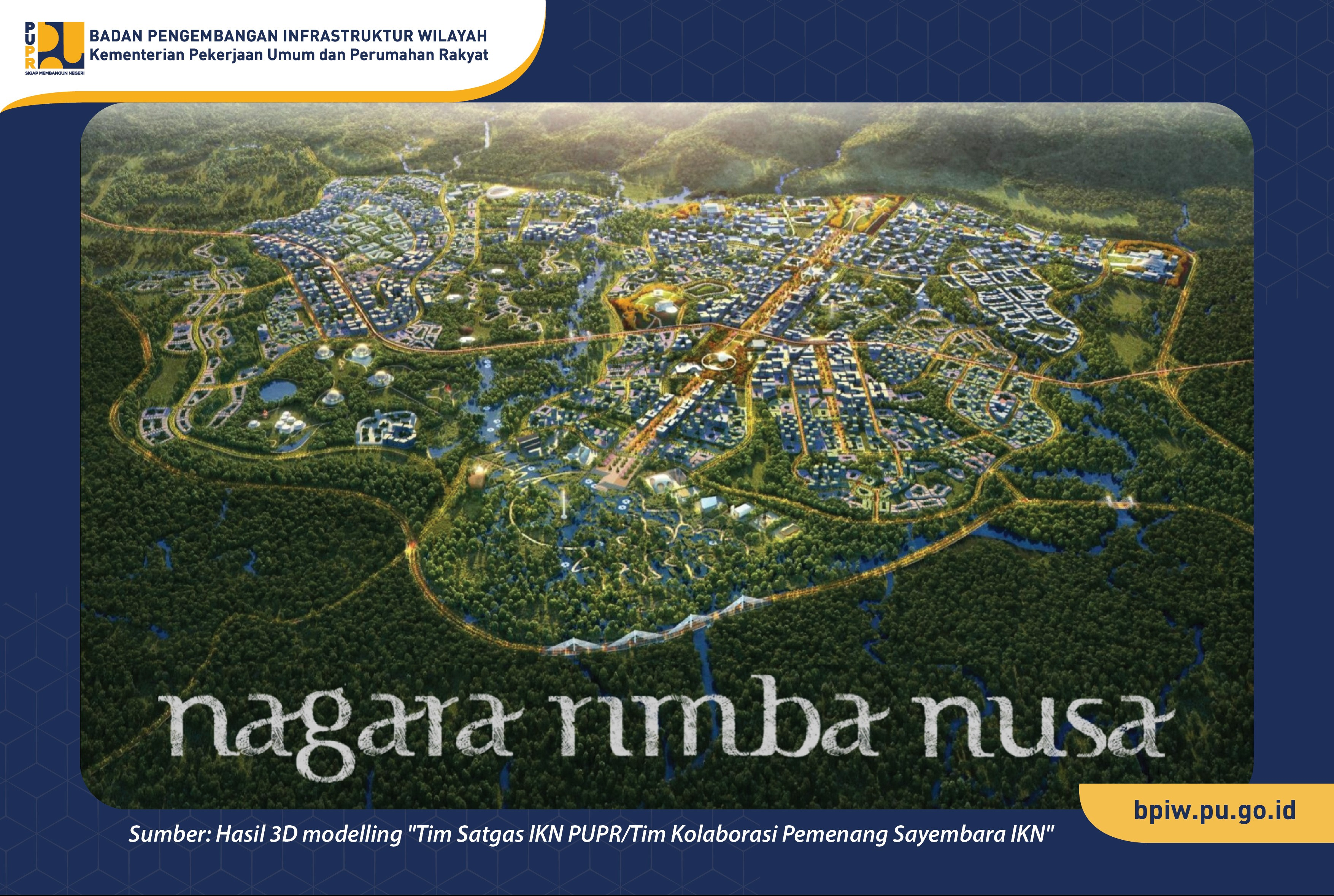 BPIW Ajukan Usulan Program Pembangunan Infrastruktur PUPR di Ibu Kota Negara