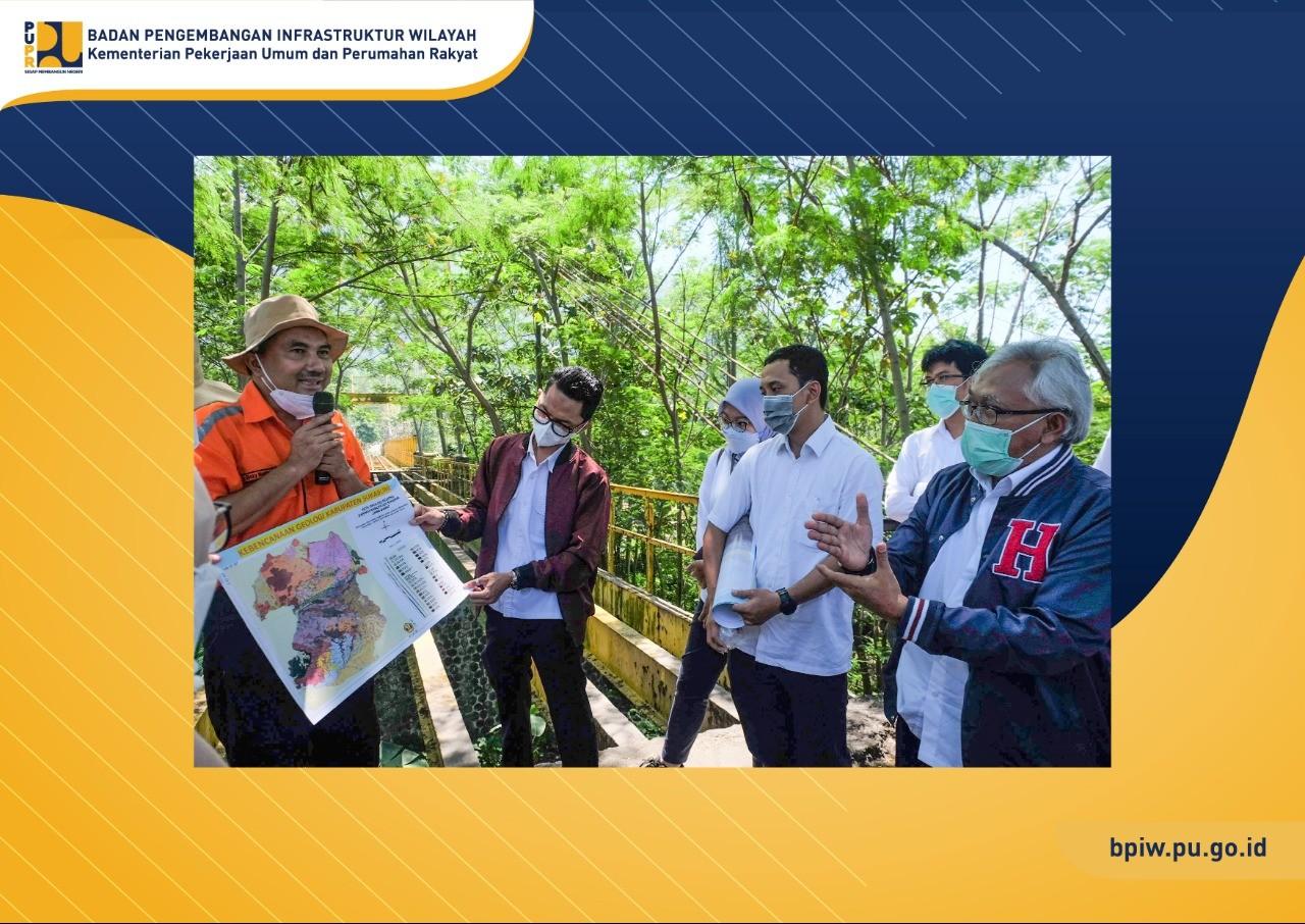 BPIW Lakukan Tinjauan Lapangan Terkait Konsep Pengembangan Infrastruktur Wilayah Berbasis Geological Park di Sukabumi