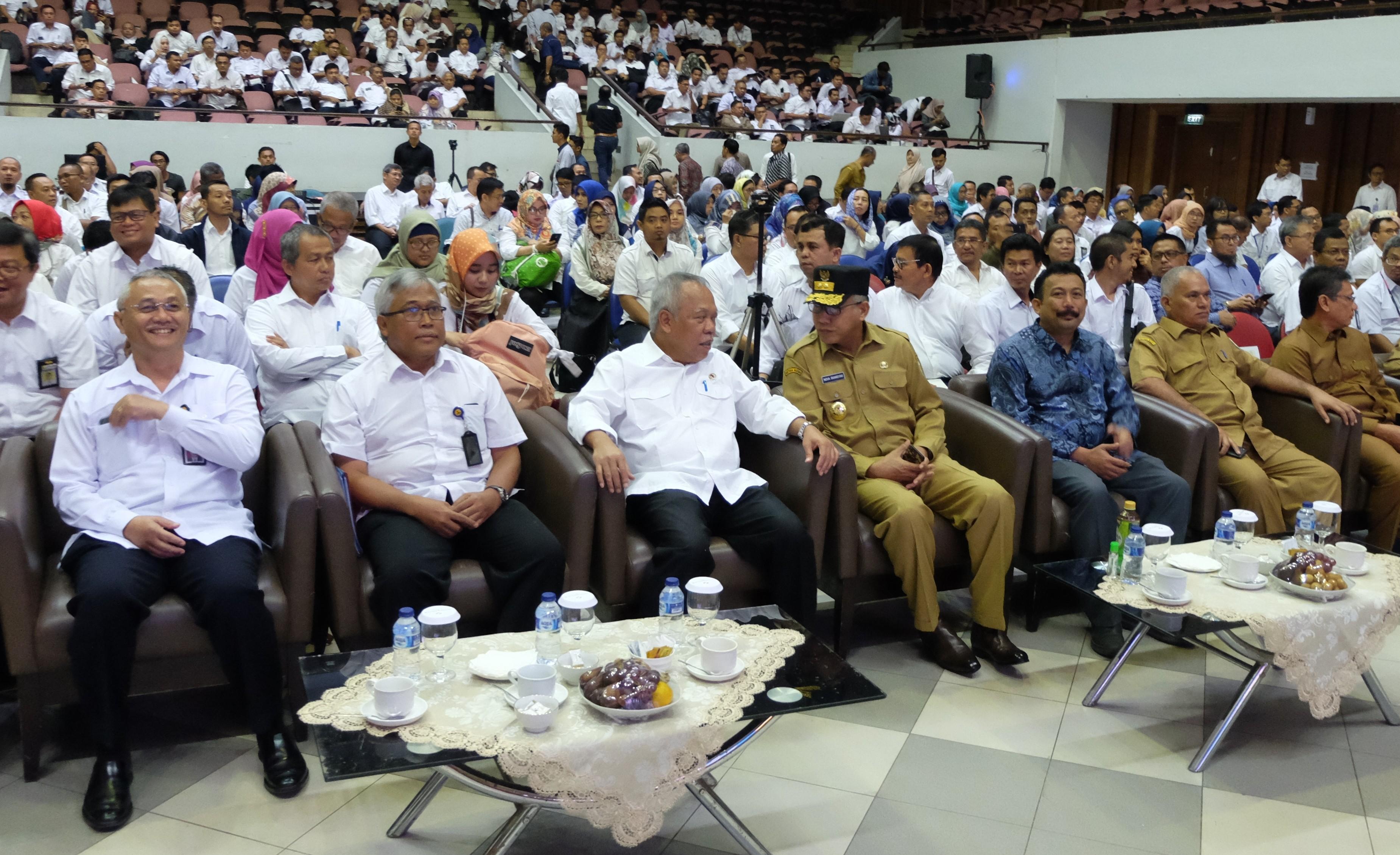 Konreg PUPR Sinergikan Program Pusat dan Daerah