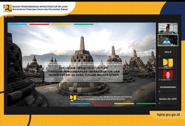 BPIW Gelar Rapat Dengan Unit Organisasi di Kementerian PUPR Bahas Dukungan Infrastruktur di Jawa Tengah