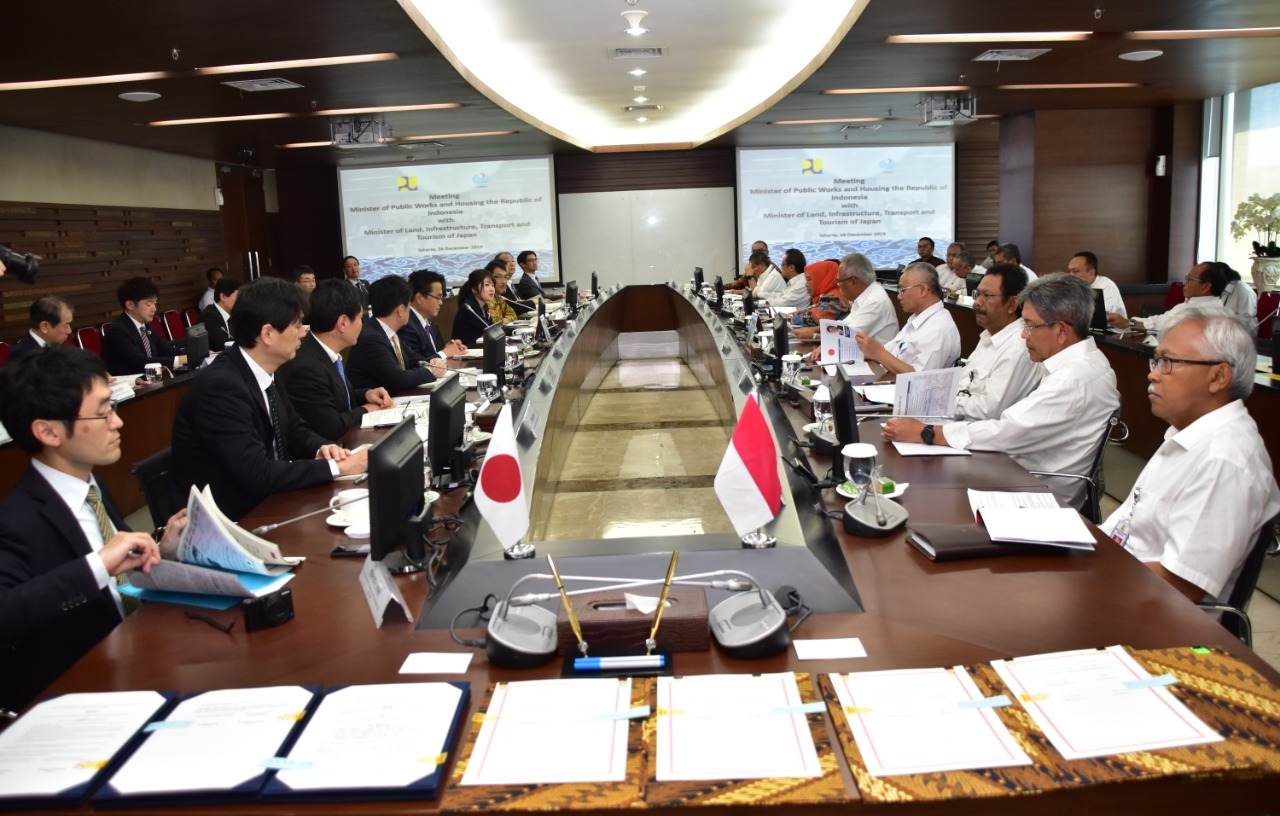 Indonesia-Jepang Sepakat Perpanjang Kerjasama di Bidang Infrastruktur