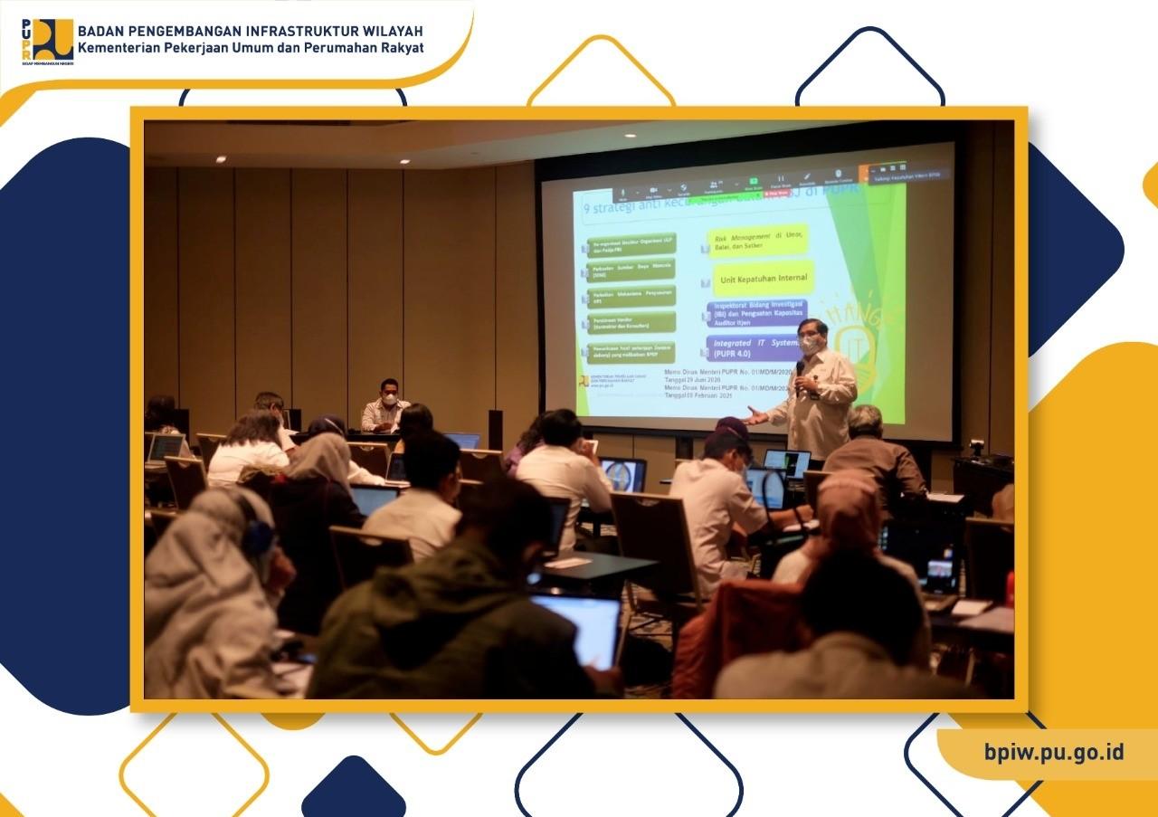 BPIW Siapkan Manajemen Risiko Jadi Budaya Organisasi