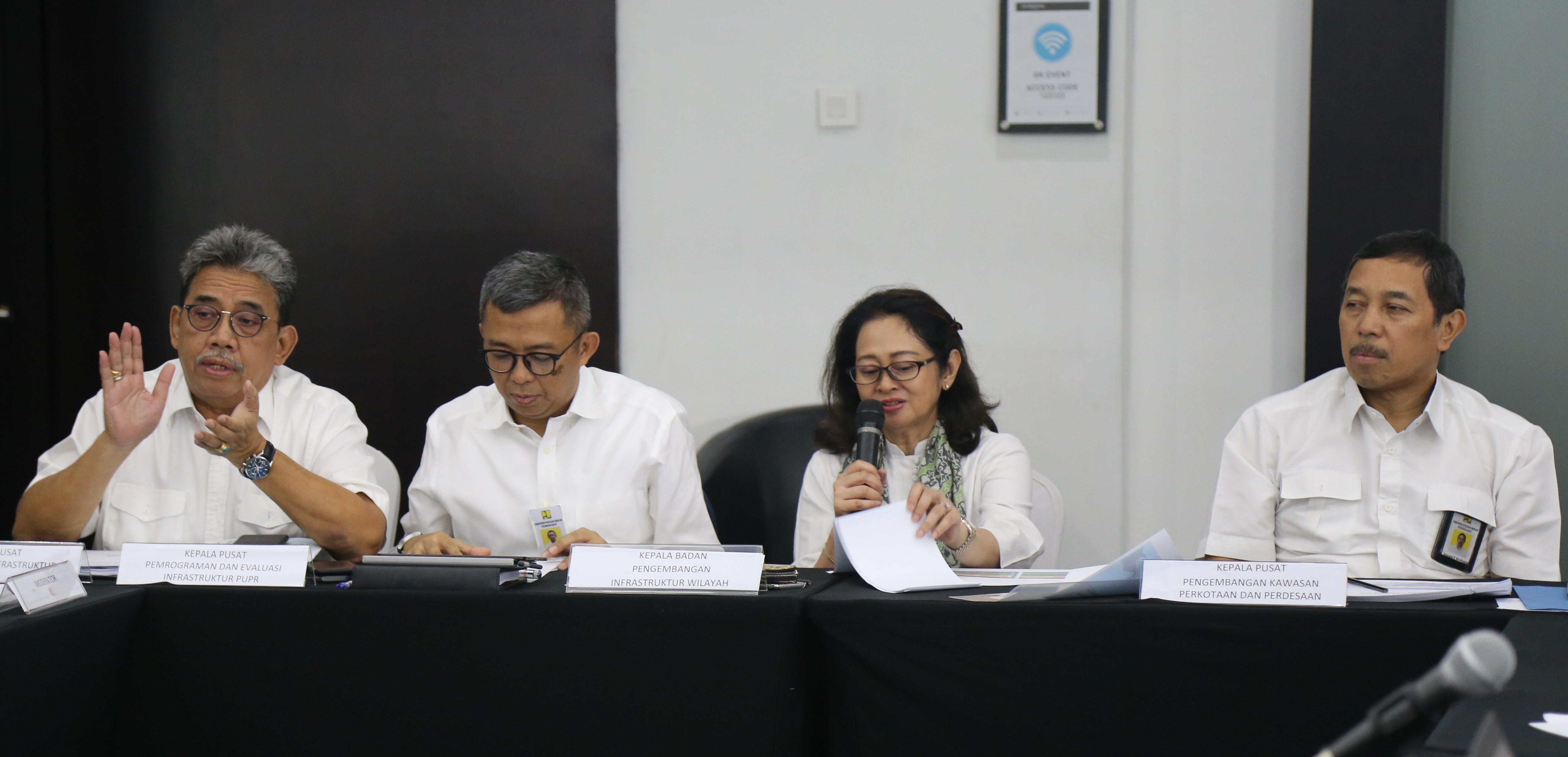 BPIW Koordinasikan Program Jangka Pendek 2021-2023