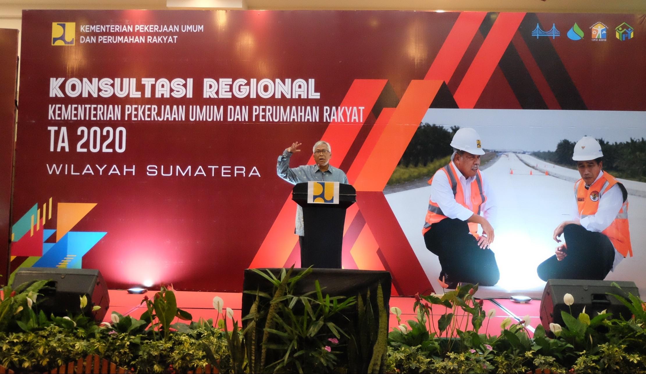 Pemerintah Pusat Beri Perhatian Khusus terhadap Pembangunan Infrastruktur di Wilayah Sumatera