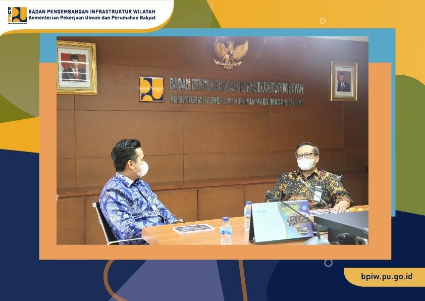 Bertemu dengan Bupati Kendal, Plt. Kepala BPIW Jelaskan Tugas BPIW