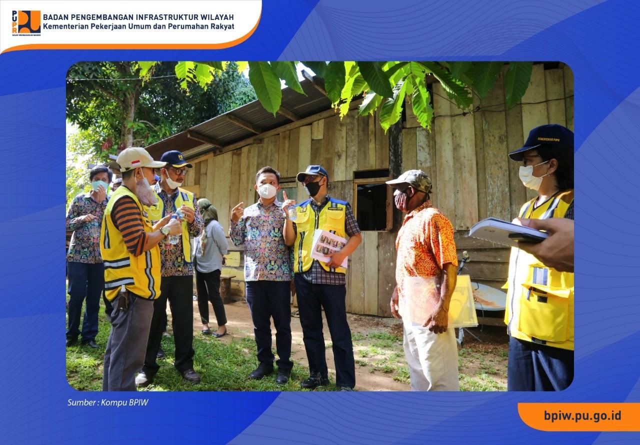 Kepala BPIW Tinjau Kolaborasi Program Infrastruktur PUPR di Papua Barat