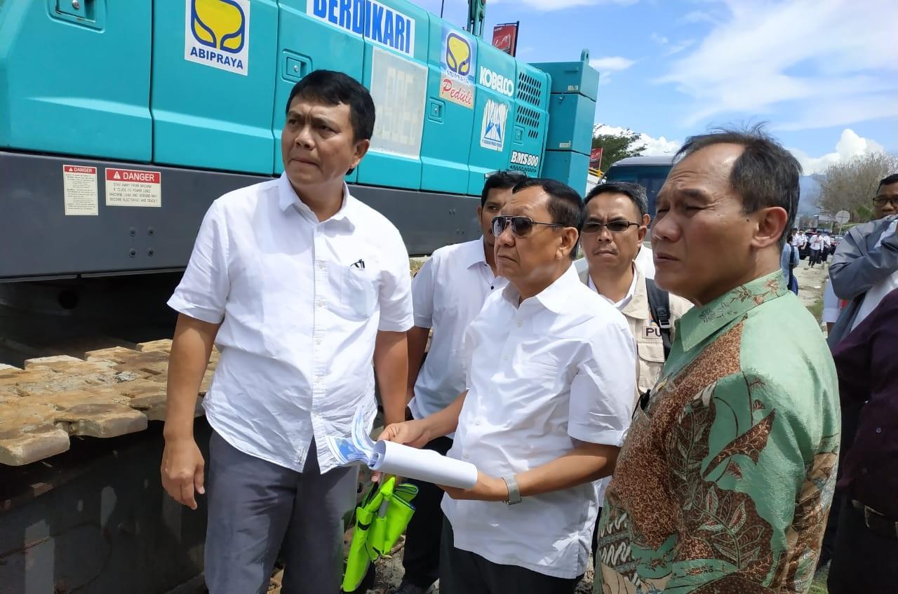 Komisi V DPR RI Dukung Percepatan Pembangunan Kembali Jembatan Kuning di Palu