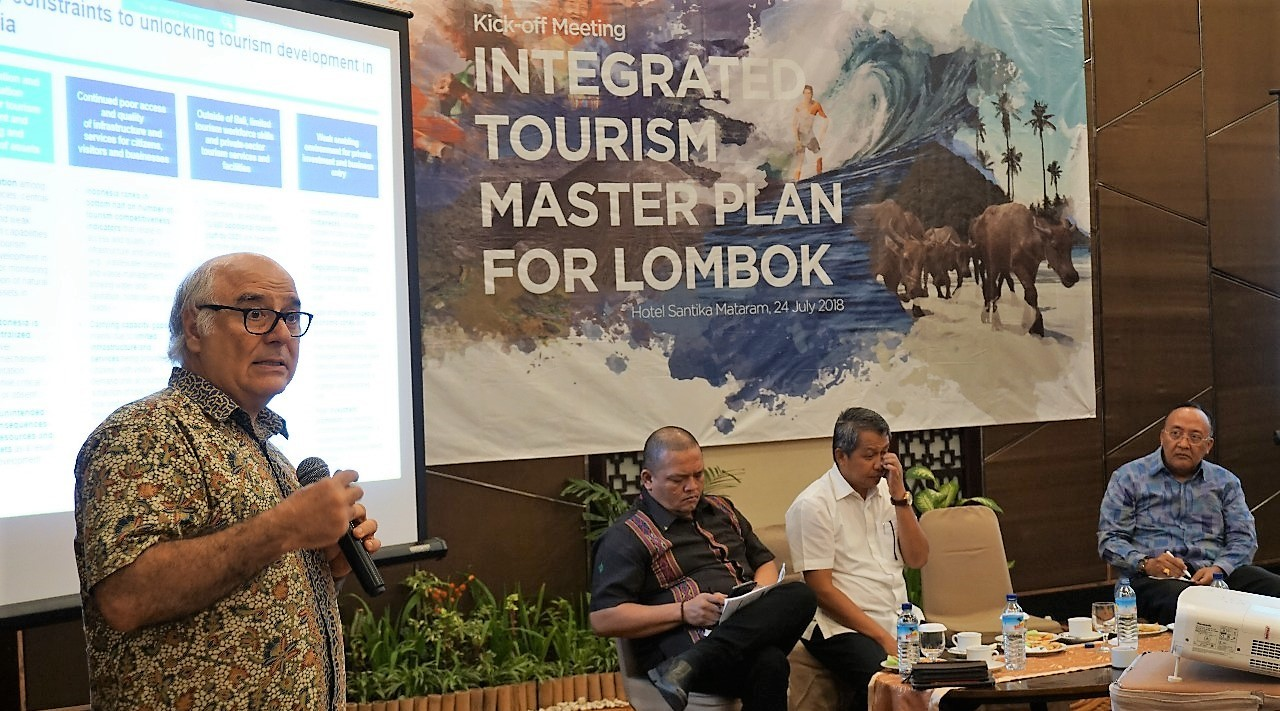 Pengembangan KSPN Lombok Dilakukan Terpadu dan Komprehensif