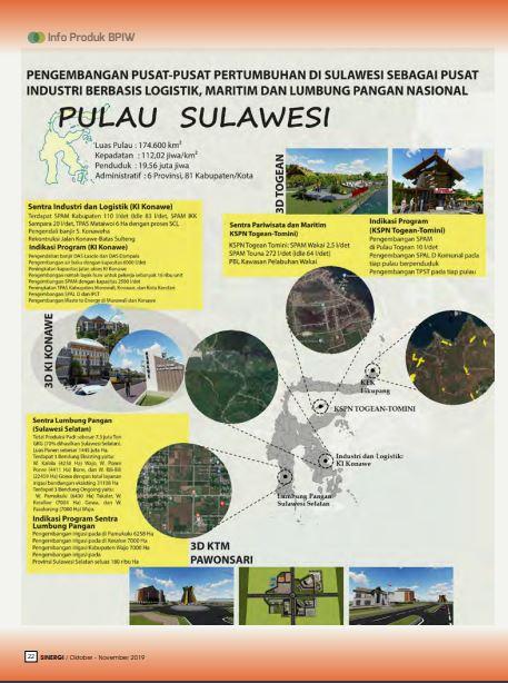 Pusat-pusat Pertumbuhan di Sulawesi sebagai Pusat Industri Berbasis Logistik, Maritim, dan Lumbung Pangan Nasional